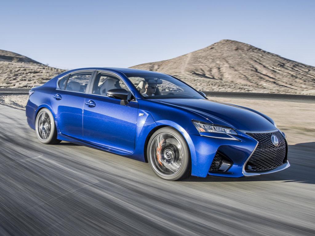 Экстерьер Lexus GS F