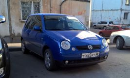 Volkswagen Lupo 1998 отзыв владельца | Дата публикации: 22.04.2016