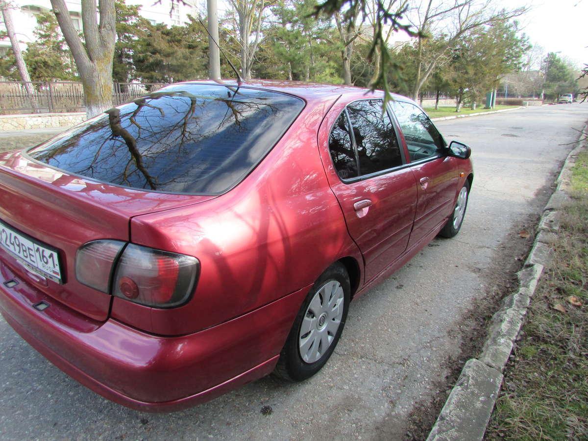 nissan primera левый руль 1999