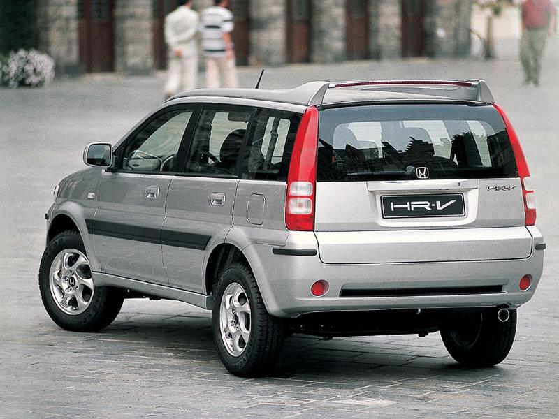 honda hr-v, 2005 или cr-v что лучше