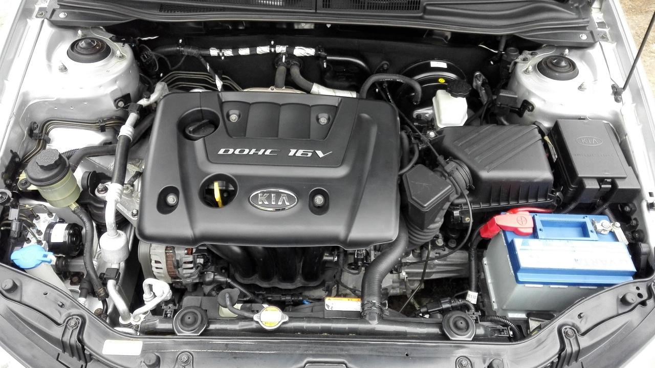 какое масло лить в двигатель киа серато 1.6 2010