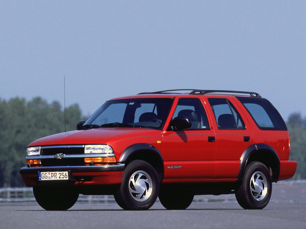 схема двигателя на chevrolet blazer 1999 года