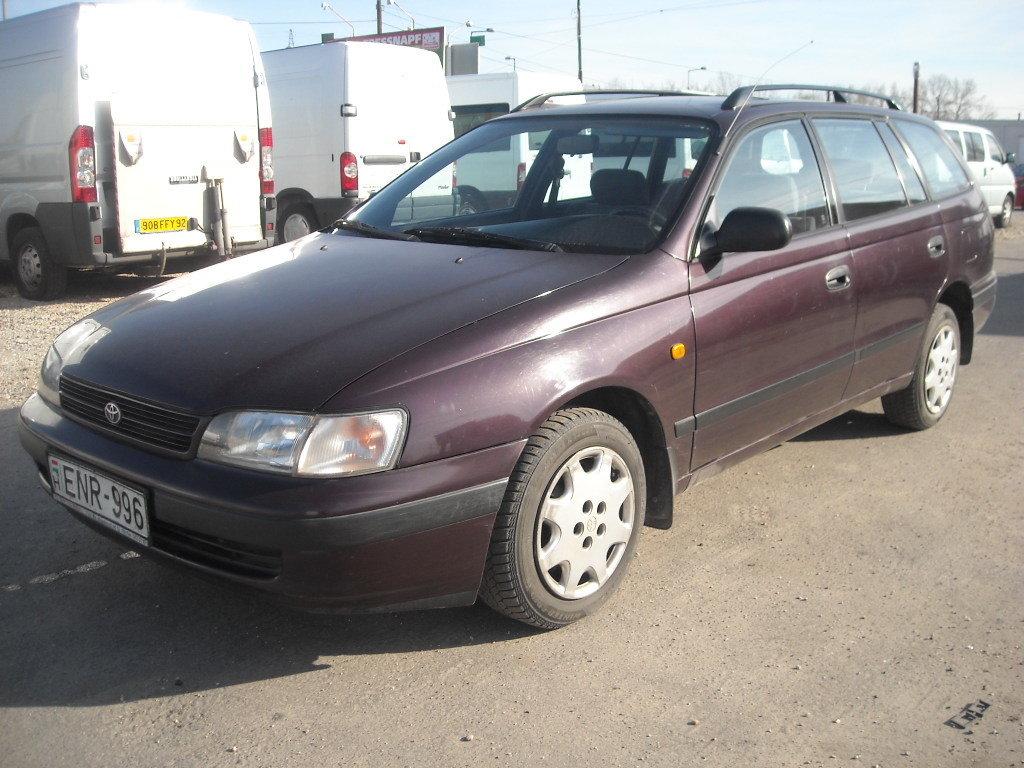 toyota carina 6-е поколение (1992—1996)