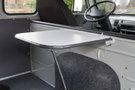 Дополнительно: Легкосъемный столик; Единая комбинация приборов; Ящик для мелких вещей в панели приборов с возможностью замены на 1DIN