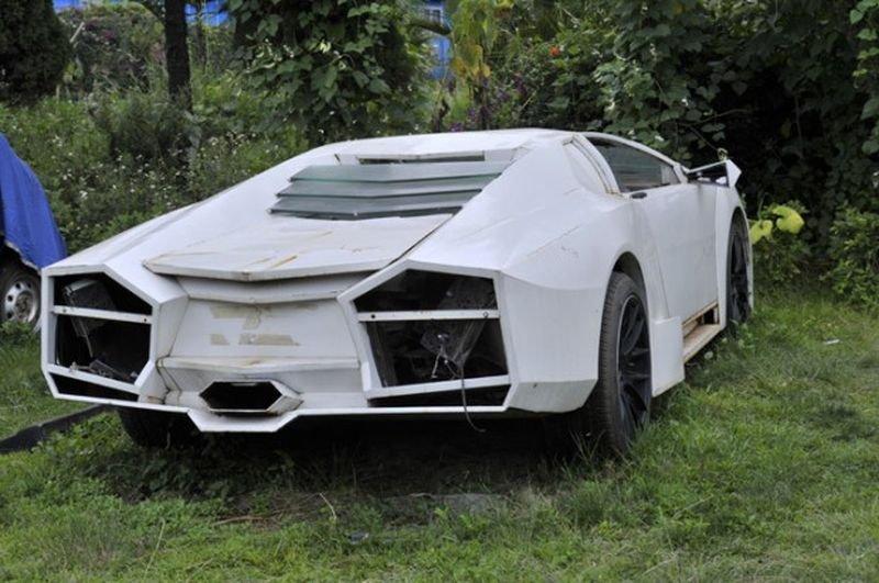 В Омске автовладельца привлекли к ответственности за переоборудование ВАЗ-21083 под Ford Mustang