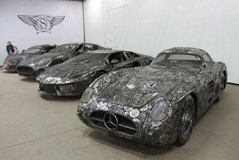 26.08.2016 В Польше сделали копии популярных автомобилей из металлолома