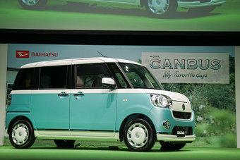 07.09.2016 Daihatsu представила микровэн Move Canbus