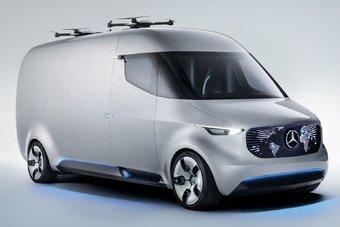 08.09.2016 Mercedes показал электрический фургон будущего