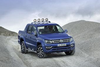 12.09.2016 Volkswagen подготовил специальную версию пикапа Amarok с 201-сильным дизелем