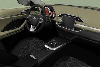 19.09.2016 Стало известно, как Lada XCODE выглядит внутри