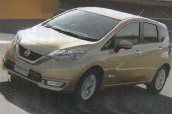 27.09.2016 Фото обновленного Nissan Note попало в интернет