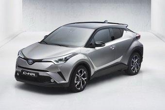 28.09.2016 Toyota рассказала о спецификациях C-HR для рынка Японии