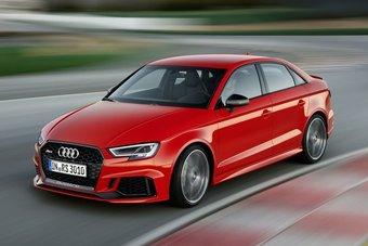 30.09.2016 Седан Audi RS3 оснастили 5-цилиндровым 400-сильным мотором