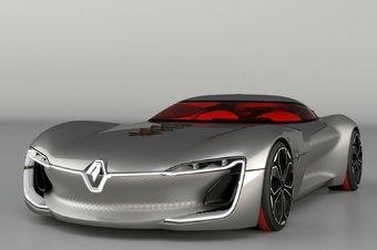 30.09.2016 Renault показала электрическое купе класса «гран туризмо»