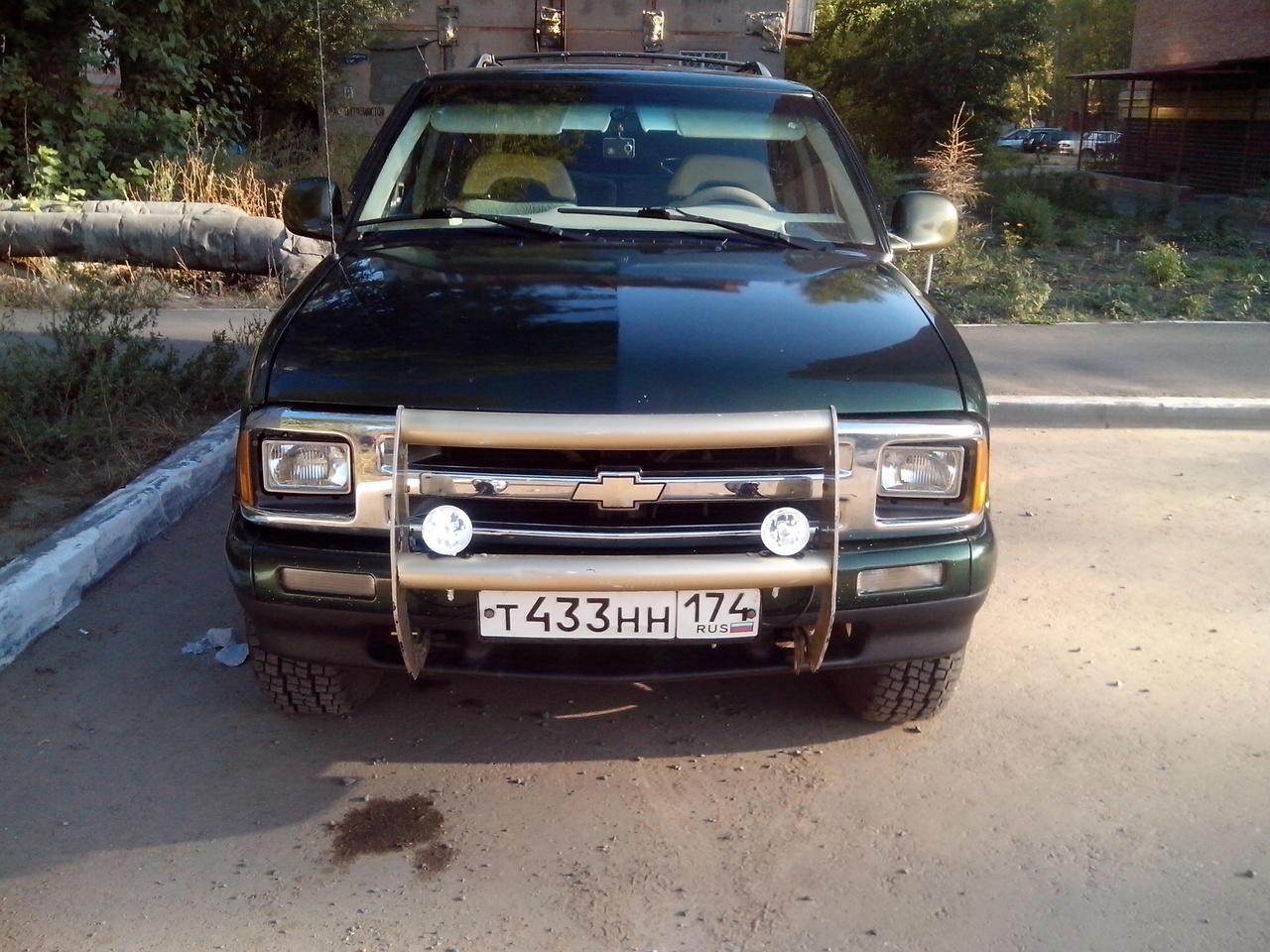 Chevrolet Blazer.