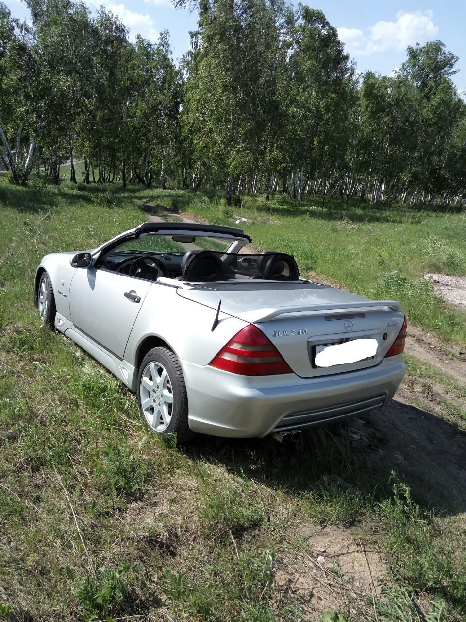 Mercedes-Benz SLK-Class.