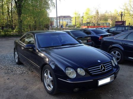 Mercedes-Benz CL-Class 2004 - отзыв владельца