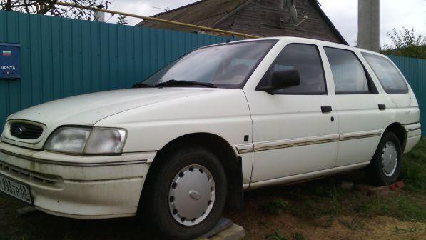Ford Escort 1994 - отзыв владельца