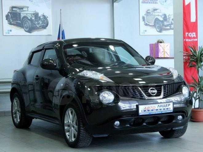 Nissan juke 16 at (117 лс 2011 г 74 445 км стоимость автомобиля: 559 000 руб