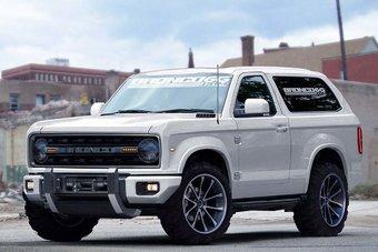 03.10.2016 Ford возродит классический внедорожник Bronco