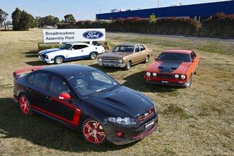 07.10.2016 Австралийское подразделение Ford прекращает производство автомобилей после 91 года работы