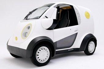 07.10.2016 Honda представила микроавтомобиль с кузовными деталями, отпечатанными на 3D-принтере