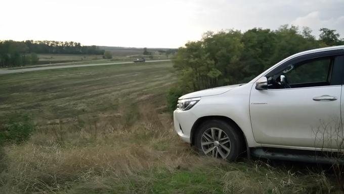 Toyota Hilux Pick Up.