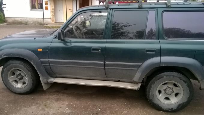 Nissan Terrano.