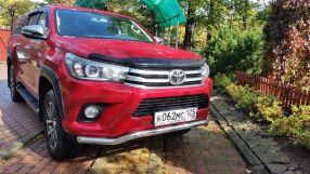 Toyota Hilux Pick Up 2016 отзыв владельца | Дата публикации: 22.09.2016