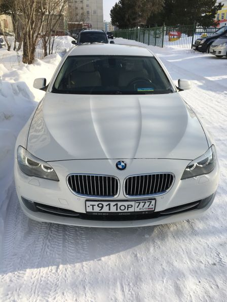 BMW 5-Series 2012 - отзыв владельца