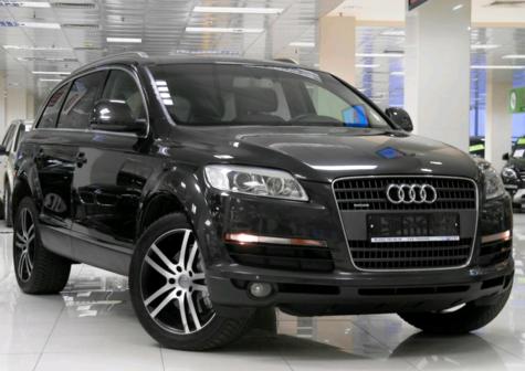 Audi Q7 2007 - отзыв владельца