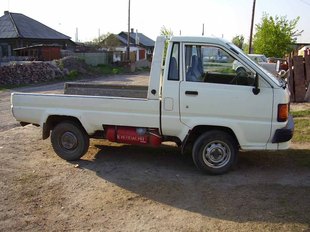 toyota lite ace truck технические характеристики