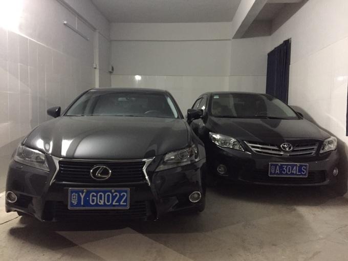 Lexus GS250.