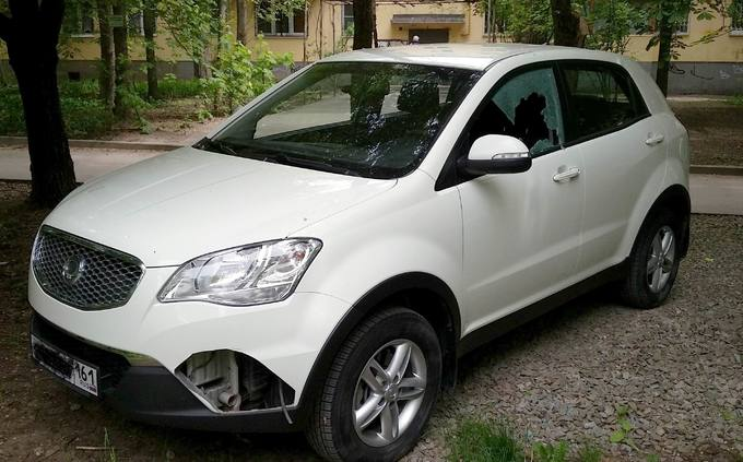 SsangYong Actyon.
