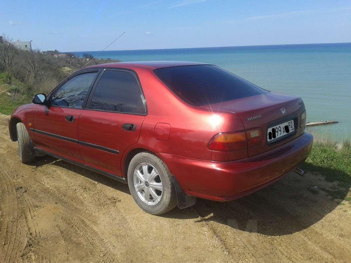 Авто хонда 1993