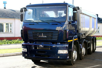 17 Ноября 2016 МАЗ начал поставлять в Африку праворульные грузовики