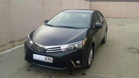 Toyota Corolla 2014 отзыв владельца | Дата публикации: 01.04.2015