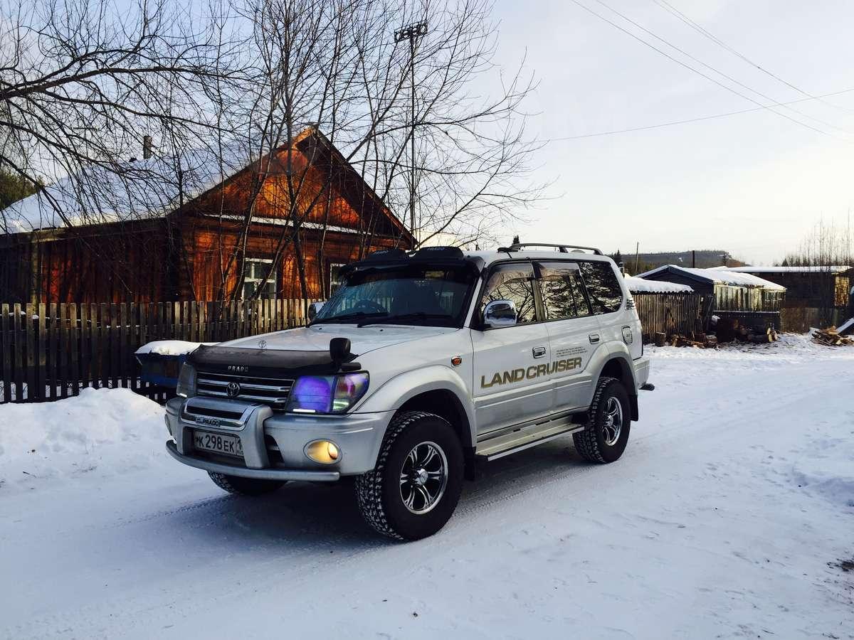 Toyota лэнд крузер Прадо дизель отзывы #10