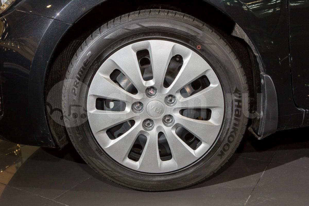 Дополнительно: Передние брызговики, тройное срабатывание указателей поворота при однократном нажатии, декоративные колпаки колес