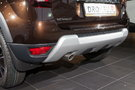 Бамперы: Хромированная защитная накладка Dakar на задний бампер