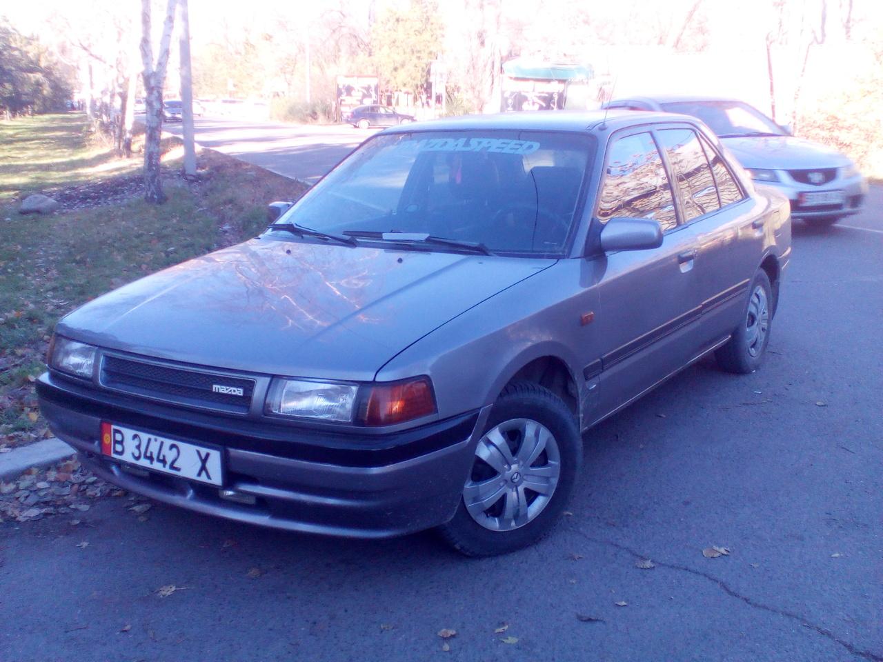 mazda 323, 1987 год дизельот чего подойдет стартер