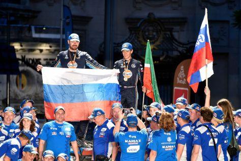 Для российских спортсменов нынешний «Дакар» стал особенно удачным: они «закрыли» все категории транспортных средств.