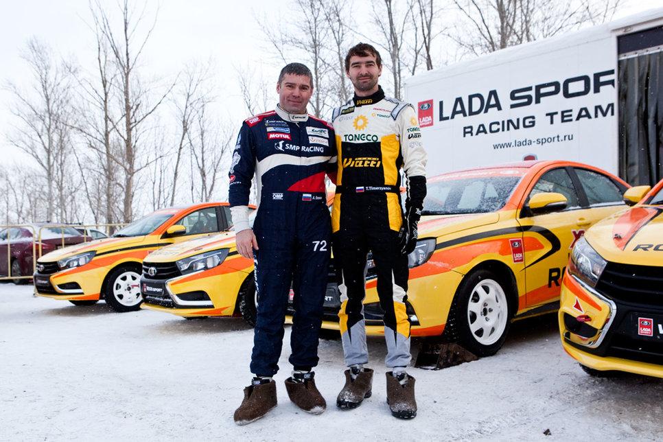 Алексей Басов (слева) и Тимур Тимерзянов