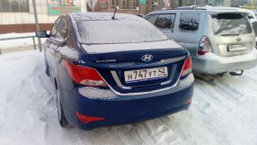 Hyundai Solaris 2016 отзыв владельца | Дата публикации: 15.01.2017