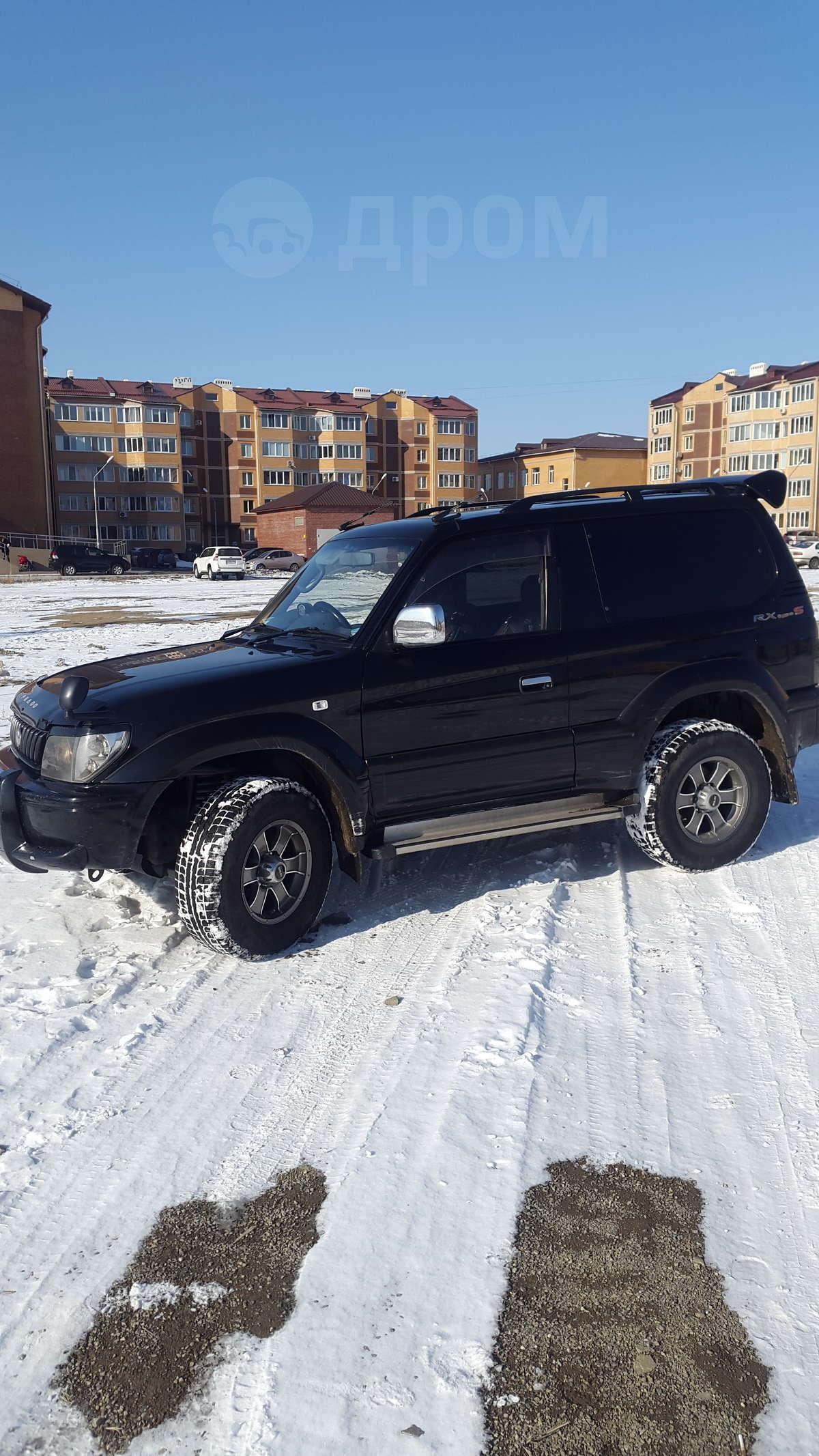 Toyota Land Cruiser Prado 150 2.8 дизель - ciklotto.ru