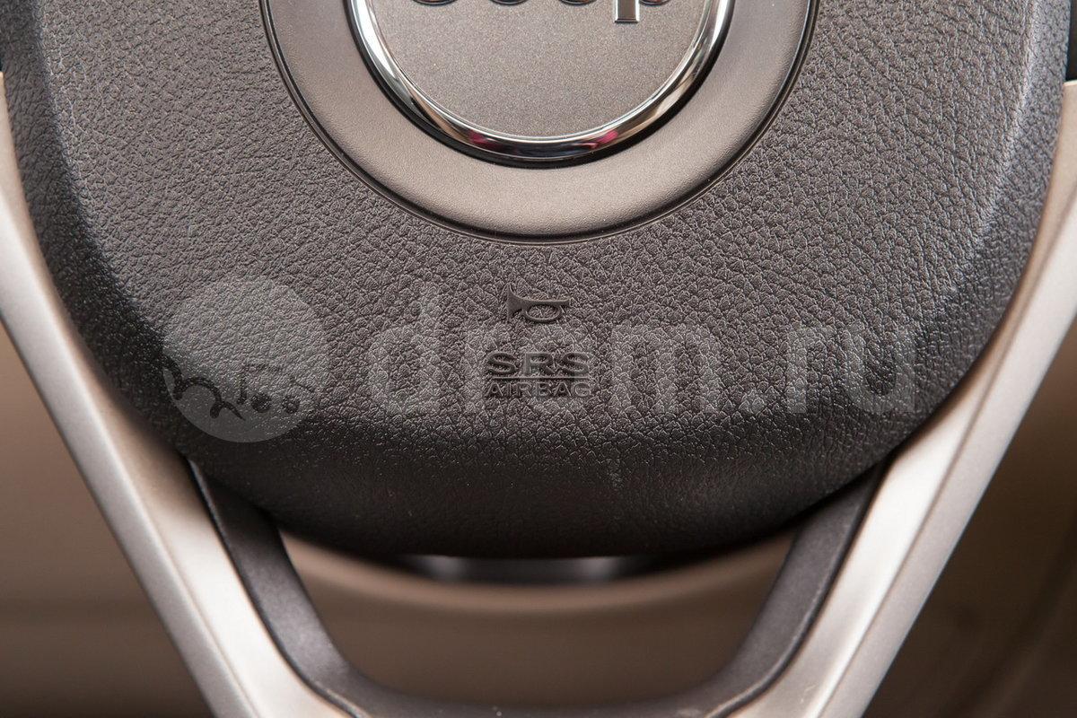 Подушка безопасности водительская: да