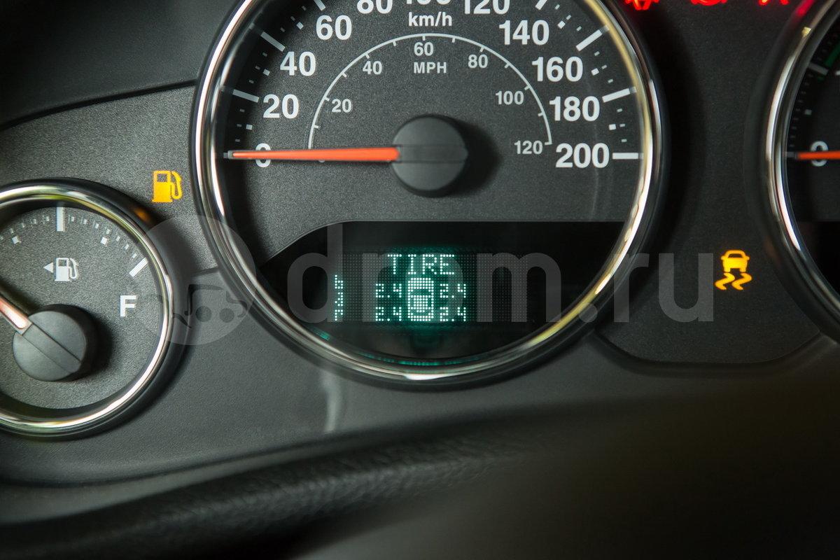 Индикатор падения давления в шинах: да