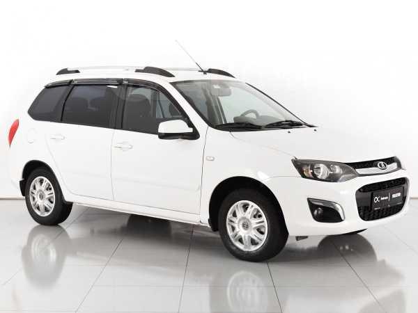 Новый авто ваз (lada) kalina, белый , 2017 года выпуска, цена 616 900 руб в автосалоне