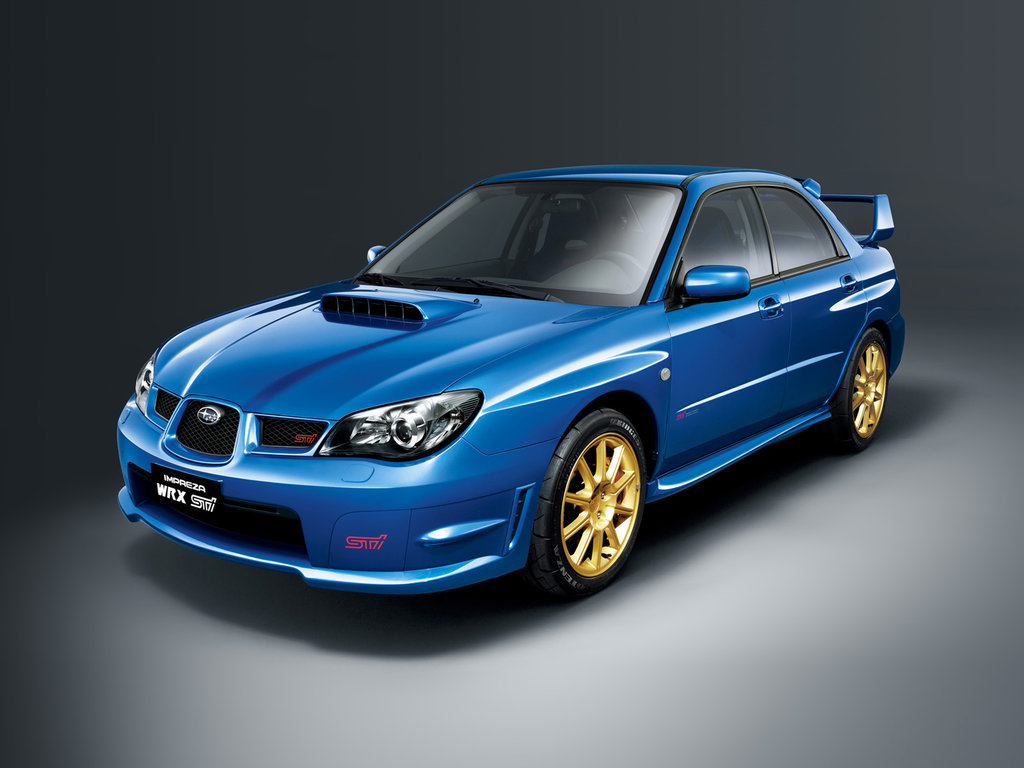 subaru impreza wrx sti 2 2005 2006 2007 2 gd. Black Bedroom Furniture Sets. Home Design Ideas