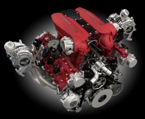 Ferrari V8 3.9 Biturbo